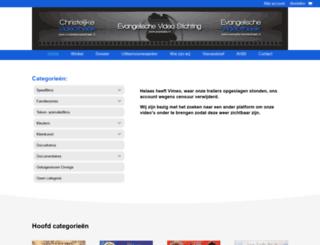 evangelischevideotheek.nl screenshot