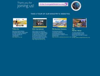 evangelistwairimu.org screenshot