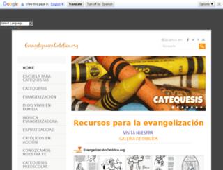 evangelizacioncatolica.org screenshot