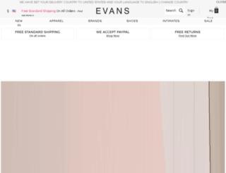 evansusa.com screenshot