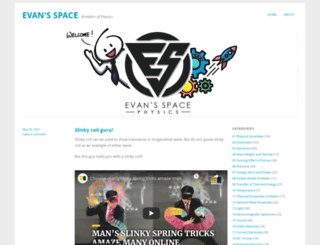 evantoh23.wordpress.com screenshot