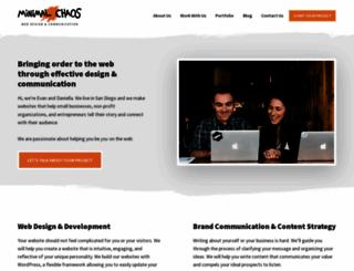evanwebdesign.com screenshot