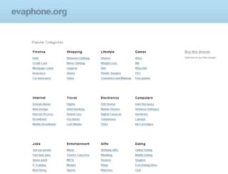 evaphone.org screenshot