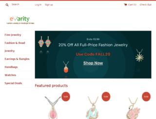 evarity.myshopify.com screenshot