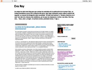 evaroy.blogspot.com screenshot