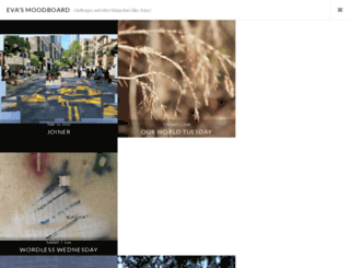 evasmoodboard.wordpress.com screenshot