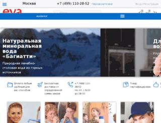 evavoda.ru screenshot