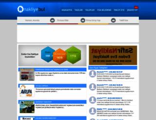 evdenevenakliiyat.com screenshot
