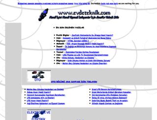 evdeteknik.com screenshot