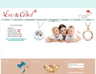 eve-abel.com screenshot