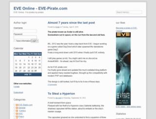 eve-pirate.com screenshot