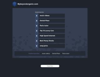 eve.mybeyondorganic.com screenshot