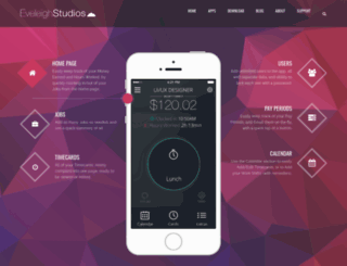 eveleighstudios.com screenshot