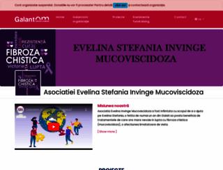 evelinainvingemucoviscidoza.galantom.ro screenshot