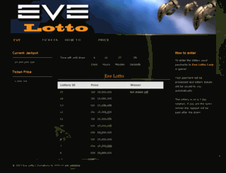 evelotto.com screenshot