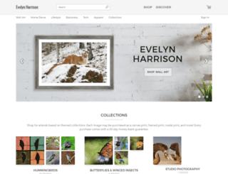 evelyn-harrison.artistwebsites.com screenshot