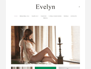 evelynlingerie.com screenshot