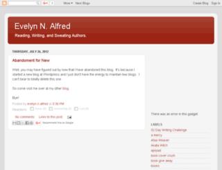 evelynnalfred.blogspot.com screenshot