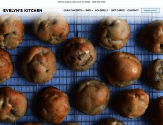 evelyns-kitchen.com screenshot