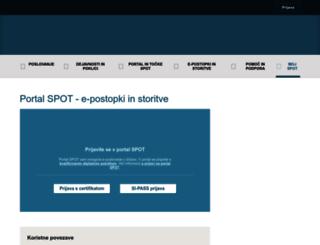 evem.gov.si screenshot