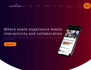 evenium.com screenshot