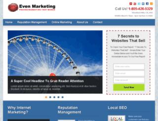 evenmarketing.com screenshot