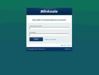 evenparsolutions.blinksale.com screenshot