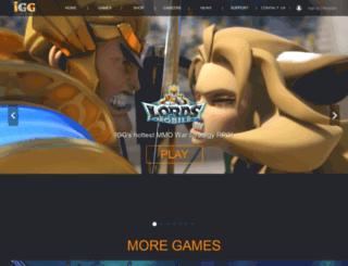 event-cc.igg.com screenshot