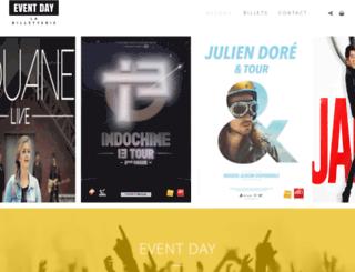 event-day.fr screenshot