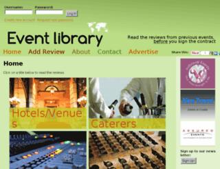 event-library.com screenshot