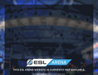 event.eslgaming.com screenshot