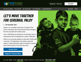 event.steptember.org.au screenshot