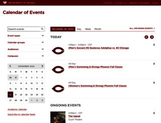 event.uchicago.edu screenshot