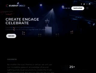 event360.com.au screenshot