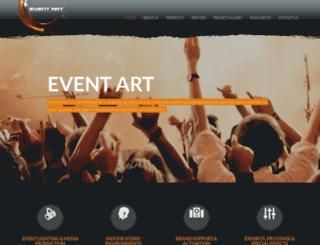 eventartsa.com screenshot