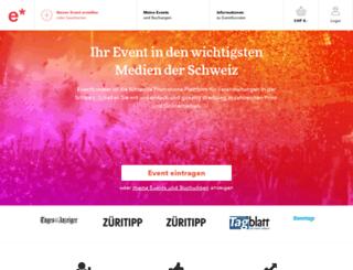 eventbooster.ch screenshot