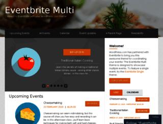 eventbritemultidemo.wordpress.com screenshot