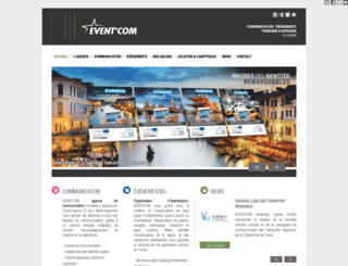 eventcom.fr screenshot