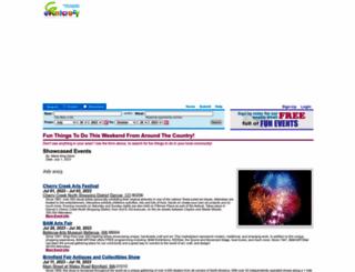 eventcrazy.com screenshot