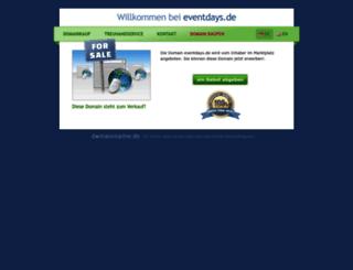 eventdays.de screenshot