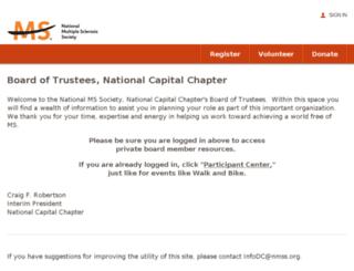 eventdcw.nationalmssociety.org screenshot