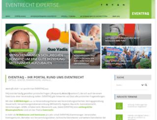 eventfaq.de screenshot