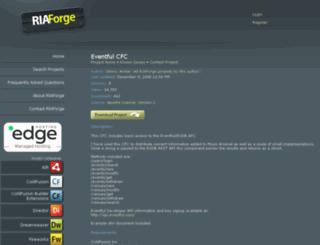 eventfulcfc.riaforge.org screenshot