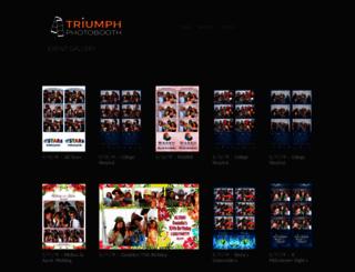 eventgallery.triumphphotobooth.com screenshot