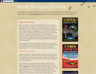 eventhorizonchronicle.blogspot.com screenshot