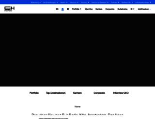eventhotelgruppe.de screenshot