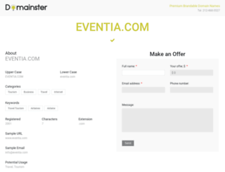 eventia.com screenshot