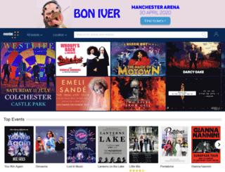 eventim.co.uk screenshot