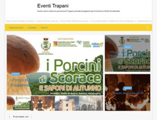 eventitrapani.it screenshot
