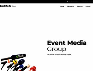 eventmedia.nl screenshot